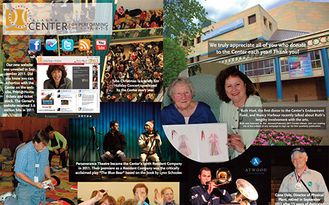 2011 Alaska Center for the Performing Arts Report to the Community Collage